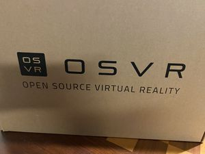 OSVR HDK 2 - Open Source Head-mounted display for OSVR- Works with SteamVR and OSVR experiences for Sale in Highlands Ranch, CO