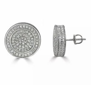 Brand new in box sterling simulated diamond studs earrings for Sale in Apopka, FL