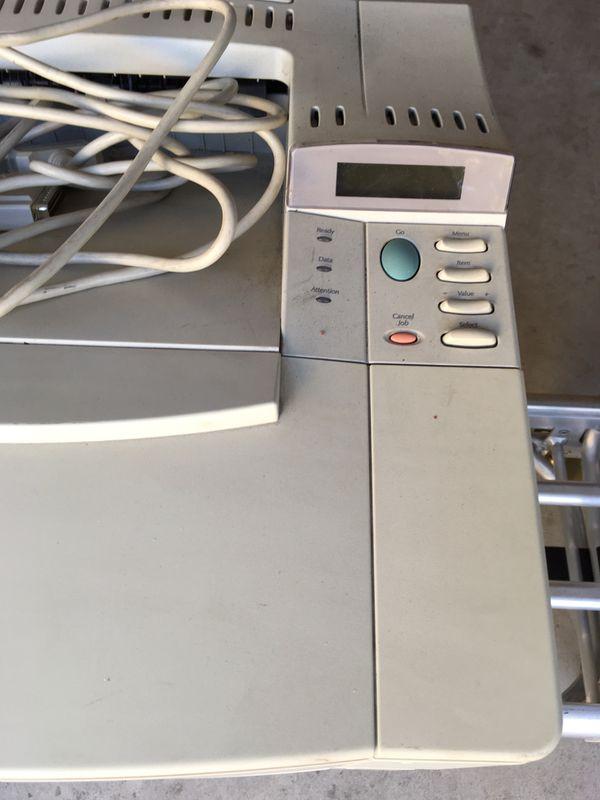 FREE HP Laserjet 4000 black white printer 17 ppm