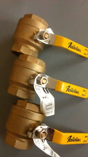 New three fairview 2 inch brass ball valves for Sale in San Diego, CA