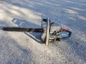 """Craftsman 18"""" chainsaw 40cc for Sale in Norfolk, MA"""