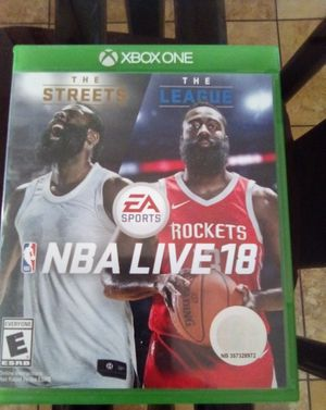 NBA LIVE 18 Perfect Condition for Sale in Apple Valley, CA