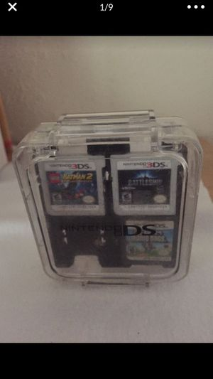 Nintendo ds and 3ds games with Nintendo Game Case for Sale in Tampa, FL