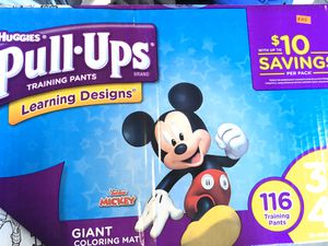 Huggies Pull Ups 3T-4T (116 Count) for Sale in North Las Vegas, NV