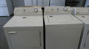 Maytag washer and dryer set (white) for Sale in Cleveland, OH