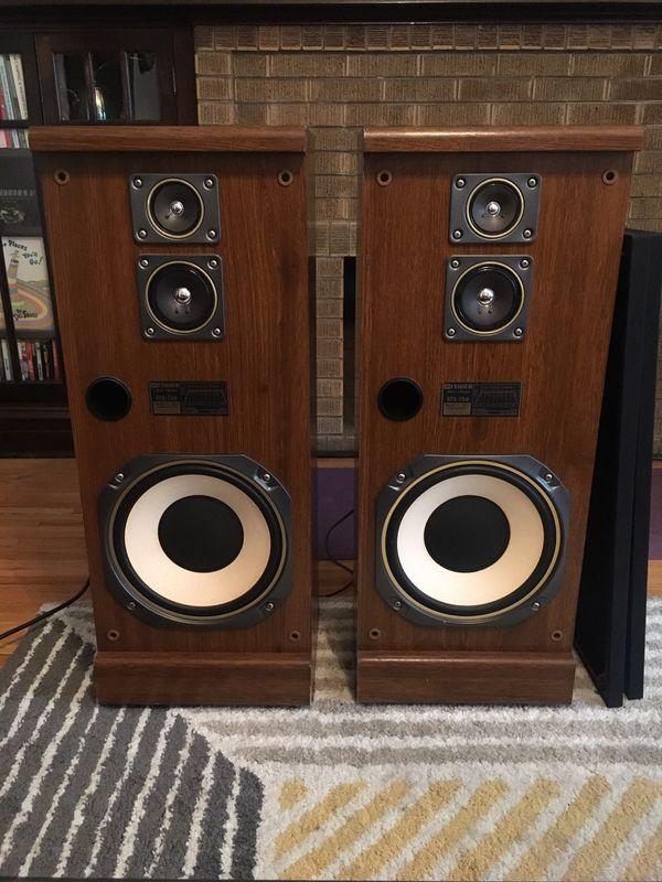 """Bluetooth 3-way 12"""" floor standing speakers AMPLIFIED - No receiver needed!"""