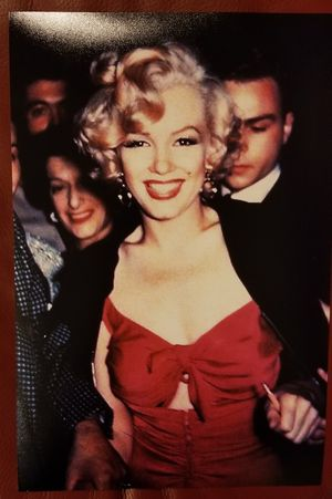 MARILYN MONROE RED NIAGARA SEXY DRESS GLAM 8X12 PRO PRINTED PHOTO for Sale in Tabernacle, NJ