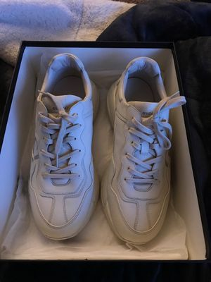 Men's Rhyton Gucci logo leather sneaker for Sale in Denver, CO