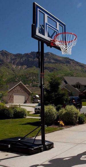 "New!! Basketball hoop, adjustable basketball hoop, portable basketball hoop, basketball hoop w 48 "" backboard, outdoor furniture for Sale in Phoenix, AZ"