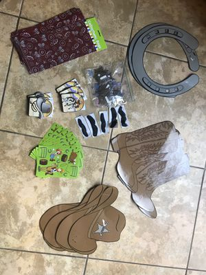 Baby Cowboy farm animal birthday party theme for Sale in Fort Lauderdale, FL