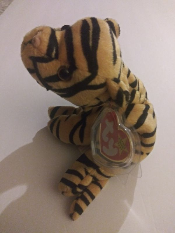 Beanie baby Stripes the tiger