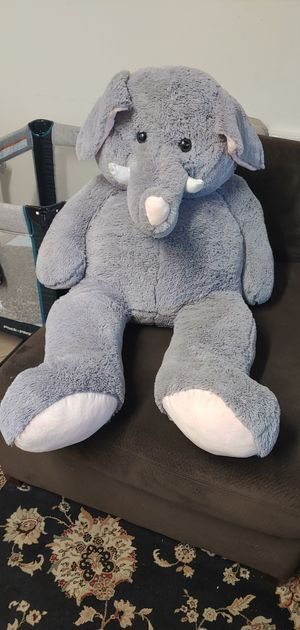 Plush bear elephant for Sale in Jamul, CA