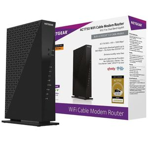 NETGEAR Dual-Band Modem Router AC1750 for Sale in Long Beach, CA