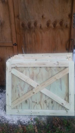 Barn doors 4x4 for Sale in Ocala, FL