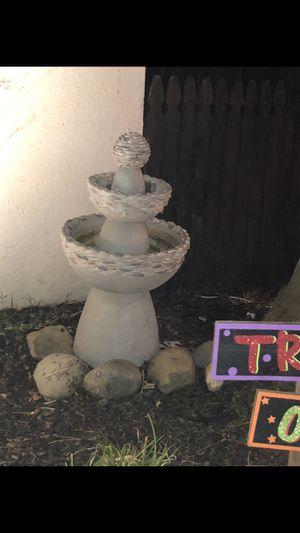 Outdoor fountain for Sale in Stockton, CA