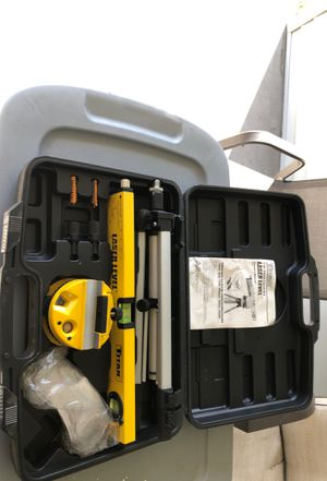 Titan laser level barely used couple times for Sale in Auburndale, FL