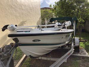 "1997 Boat Hoog 17' 7"" , 2000 Yamaha 150 and a 2010 Aluminum trailer. for Sale in Miramar, FL"