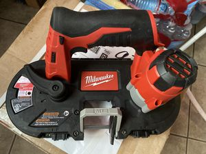 Milwaukee band saw 12v for Sale in Sunnyvale, CA