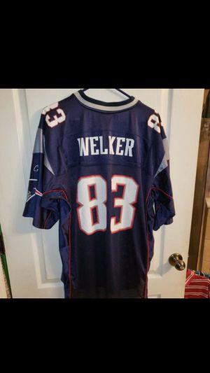 New England Patriots Football Wess Welker Jersey XL for Sale in Orange Park, FL