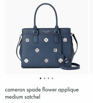 Kate spade Flower baby blue purse for Sale in Herndon, VA
