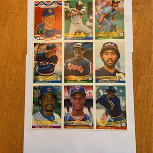 1984 Donruss Promo Sheet Rare! ⚾️ for Sale in Elma, WA