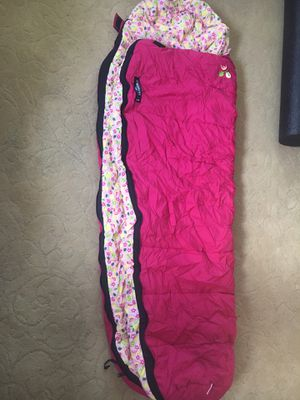 REI Kindercone kids sleeping bag—pink for Sale in Seattle, WA