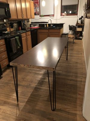 Handmade Wood Dining Table for Sale in Cleveland, OH