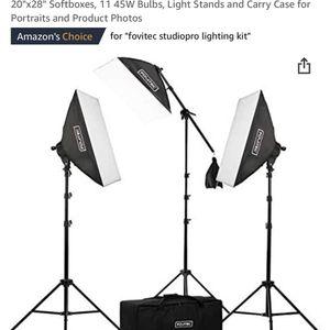 Studio Lighting Set Up for Sale in Los Angeles, CA