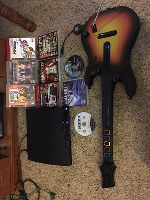 PS3 with games for Sale in Cary, NC