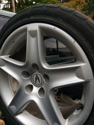 Acura rims and tires only 3 for Sale in Portland, OR