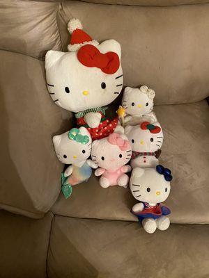 Hello Kitty stuffies for Sale in Des Moines, WA