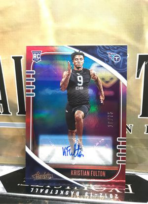 KRISTIAN FULTON RC AUTO SP /75 PARALLEL ABSOLUTE AS SHOWN for Sale in Kearny, NJ