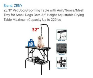 Dog grooming table new in box for Sale in Chula Vista, CA