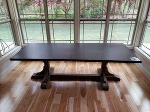 RH 20th Centry Reclaimed Pine & Zinc Trestile 96x40 brand new Dining room table. for Sale in Moore, SC