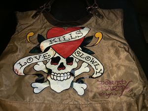 "Ed Hardy Vintage ""Love Kills Slowly"" Tote for Sale in Sloan, NV"