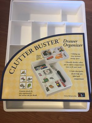 Clutter Buster Drawer Organizer for Sale in Chesapeake, VA