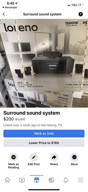 Tv system for Sale in New Cumberland, PA