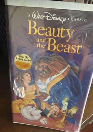 Walt Disney VHS , Beauty & the Beast, collectible, $0 for Sale in Los Angeles, CA