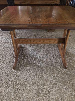 Antique oak pop-up mechanical table rare for Sale in Phoenix, AZ