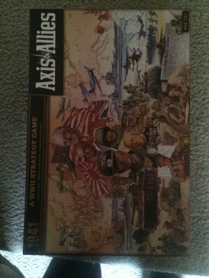Axis and Allies: War Strategy Game for Sale in Silver Spring, MD