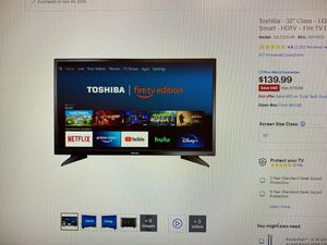Amazon Fire TV 32 inch for Sale in Austin, TX