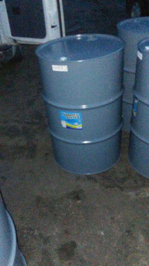 55 Gallon Metal Food Grade Barrels for Sale in Detroit, MI