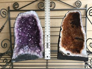 Amethyst and Citrine crystals from Brazil for Sale in Hockley, TX