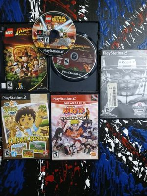 Ps2 games good deal 5 games!! for Sale in Stockton, CA
