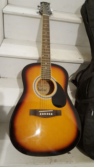 Guitar and case for Sale in Brockton, MA
