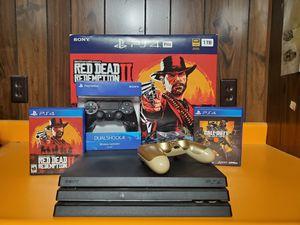 PS4 RDR2 Bundle for Sale in La Porte City, IA