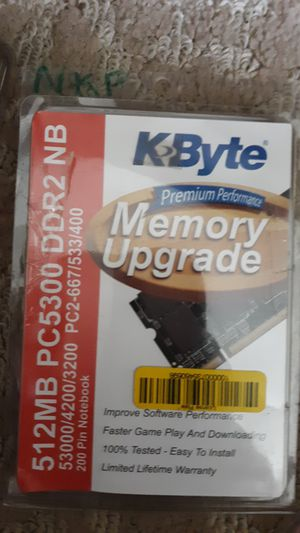 KByte 512MB Memory Upgrade for older computers for Sale in Ocala, FL