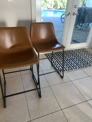 Leather Bar stools for Sale in Miami, FL