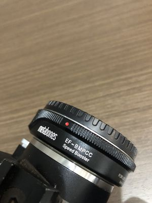 Black Magic Pocket Camera with Canon Metabones Lens Speedbooster for Sale in San Diego, CA