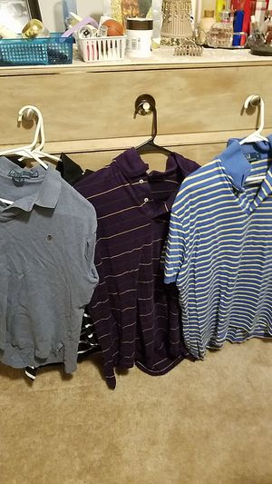 4 polo shirts size lg for Sale in Lexington, KY